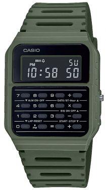 Casio Vintage Armbanduhr Taschenrechner-Uhr CA-53WF-3BEF grün