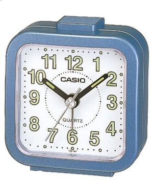 Casio Wecker analog Wake up Timer TQ-141-2EF blau