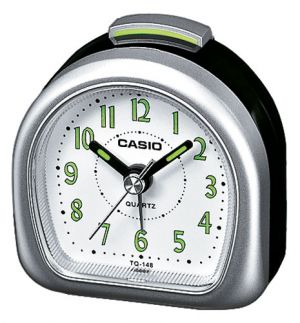 Casio Wecker analog Wake up Timer TQ-148-8EF schwarz silber