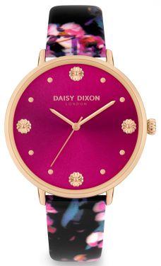 DAISY DIXON Damenuhr Armbanduhr DD116BP inkl. Clutch