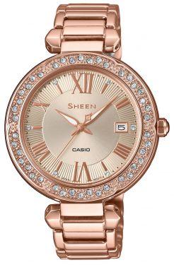 Casio Damenuhr Armbanduhr Sheen SHE-4057PG-4AUER rosegolden