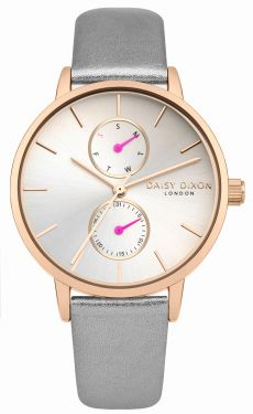 DAISY DIXON Damenuhr Armbanduhr Lederband DD086ERG