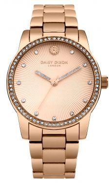 DAISY DIXON Damenuhr Armbanduhr rosegolden DD089RGM