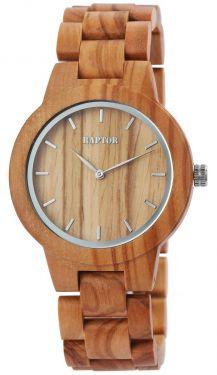 Raptor Damen Uhr Holz Armbanduhr Holzuhr RA10208-005