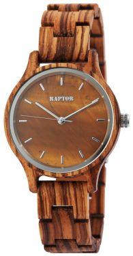 Raptor Damen Uhr Holz Armbanduhr braun Holzuhr RA10209-001