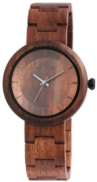 Raptor Damen Uhr Holz Armbanduhr braun RA10171-001