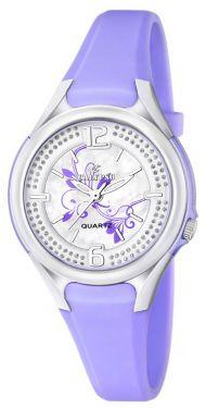 Damenuhr Calypso by Festina Uhr K5575/4 lila Strass Armbanduhr