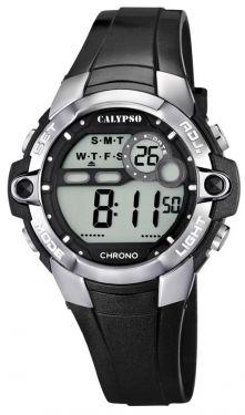 Digitaluhr Calypso by Festina Damen Uhr K5617/6 schwarz 10 ATM