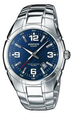 Casio Uhr Edifice EF-125D-2AVEG Herrenuhr Edelstahl