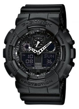 Casio G-Shock Uhr Oversized GA-100-1A1ER schwarz