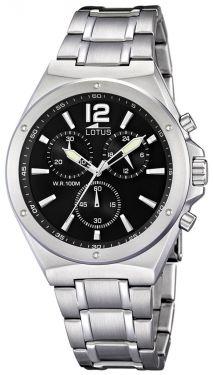 Lotus Armbanduhr Herrenuhr 10118/6 Edelstahl Uhr