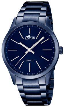 Herrenuhr Lotus Herren Armbanduhr 18163/3 blau