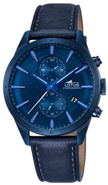 Lotus Herren Uhr by Festina 18315/1 Sport Chronograph blau