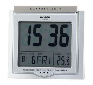 Casio Wecker DQ-750-8ER Uhr mit Thermometer
