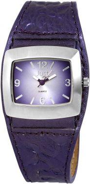 Just Damenuhr Lila Uhr mit Lederarmband 48-S8978-PR