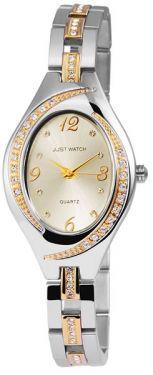 Just Watch Damenuhr Quartz Armbanduhr JW10027-001 Bicolor