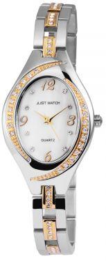 Just Watch Damenuhr Quartz Armbanduhr JW10027-003 Bicolor