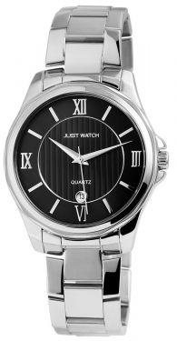 Just Watch Herren Armbanduhr Edelstahlband JW10758-BK
