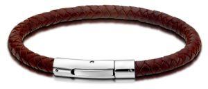 Lotus Style Armband braun rund LS1119-2/2 Lederarmband Edelstahl