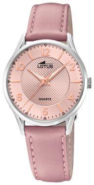 Damenuhr Lotus Armbanduhr 18406/B Lederarmband rosa