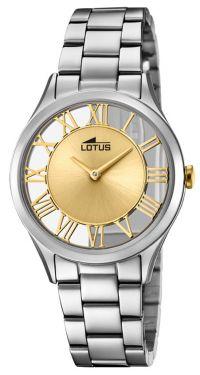 Lotus Damen Armbanduhr 18395/2 Edelstahlband