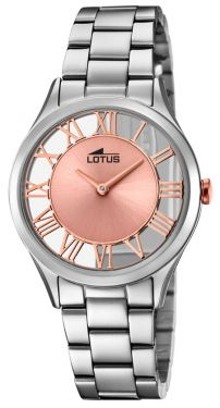 Lotus Damen Armbanduhr 18395/3 Edelstahlband