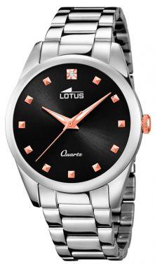 Lotus Trendy Damen Uhr Armbanduhr Edelstahl 18142/4