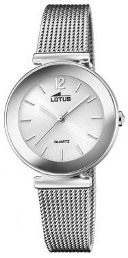 Lotus Damenuhr Armbanduhr Trendy Edelstahlband 18434/A