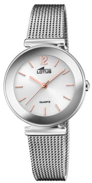 Lotus Damenuhr Armbanduhr Trendy Edelstahlband 18434/B