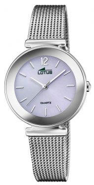 Lotus Damenuhr Armbanduhr Trendy Edelstahlband 18434/D