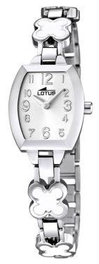 Lotus Teeny Armbanduhr 15771/1 Kleeblatt Edelstahlband