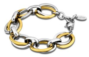 Lotus Style Armband LS1616-2/2 Edelstahl silber golden Bicolor