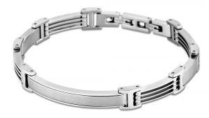 Lotus Style Armband Edelstahl LS1691-2/1 Herrenarmband Men in Black