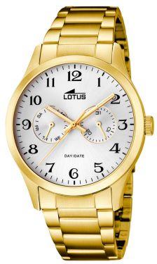 Lotus Uhr Herren Armbanduhr 15955/4 golden Datum