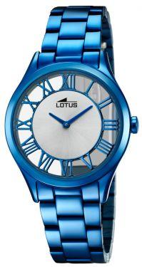Lotus Damen Armbanduhr 18397/1 Edelstahl blau