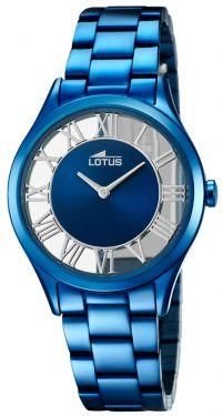 Lotus Damen Armbanduhr 18397/2 Edelstahl blau