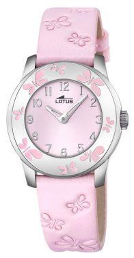 Lotus by Festina Damen Mädchen Uhr 18272/2 Leder rosa Schmetterlinge