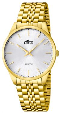 Herrenuhr Lotus Armbanduhr 15885/2 Gold PVD Herren Uhr