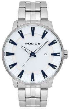 Police Armbanduhr Herrenuhr Edelstahl PL15391JS.04M Datum