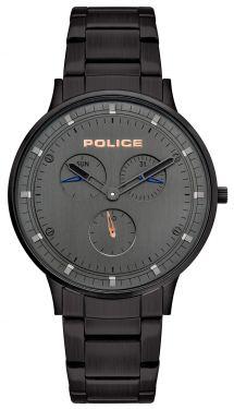 Police Armbanduhr Herrenuhr Edelstahl Black PL15968JSB.39M