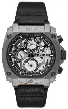 Police Herrenuhr Armbanduhr Multifunktionsuhr PL15472JSU.61