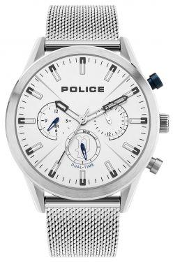 Police Uhr Armbanduhr PL16021JS.04MM Herren Edelstahlarmband