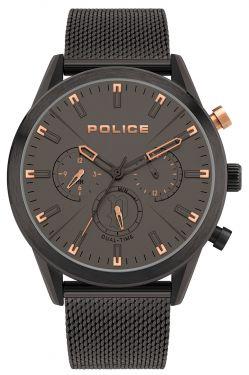 Police Uhr Armbanduhr braun PL16021JSB.79MM Herren Edelstahlarmband