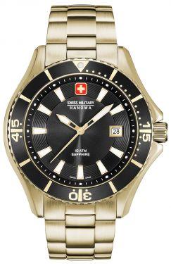 Swiss Military Hanowa Herren Armbanduhr Edelstahlband 06-5296.02.007