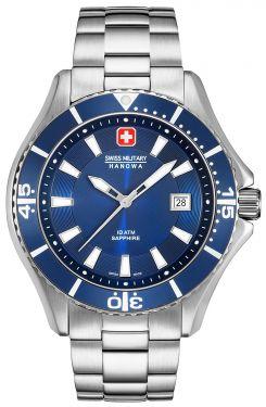 Swiss Military Hanowa Herren Armbanduhr Edelstahlband 06-5296.04.003