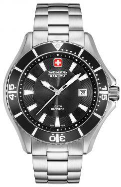 Swiss Military Hanowa Herren Armbanduhr Edelstahlband 06-5296.04.007
