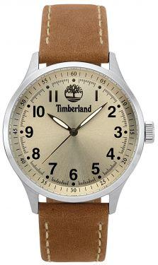 Timberland Herren Armbanduhr Lederband hellbraun TBL15353JS.07