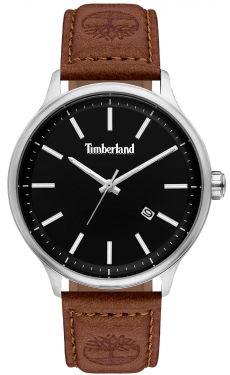 Timberland Herren Armbanduhr Lederarmband braun Datum TBL15638JS.02
