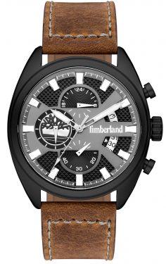 Timberland Herren Armbanduhr TBL15640JLB.61 Lederband braun