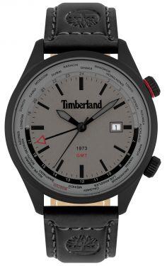 Herren Armbanduhr Timberland Lederband schwarz TBL15942JSB.13